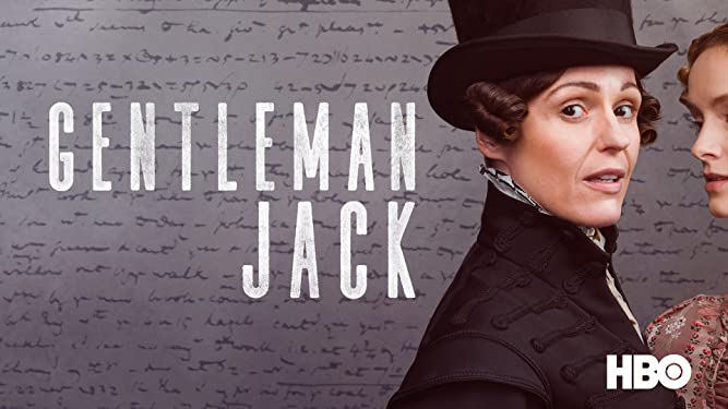 Gentleman Jack - Series Title Art